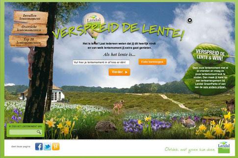 Landal GreenParks. Lente